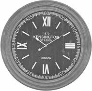Sterling 351-10245 London Preda Aged Grey London Wall Clock In Preda Aged Grey