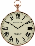 Sterling 8984-014 Shiny Copper Wall Clock