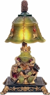Sterling 91-331 Resting Queen Frog Modern Filey Green Lighting Table Lamp