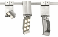 Tech 700FLP Flip Head Modern Satin Nickel LED Track Light Heads