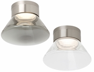 Tech 700FMCASW Casen Contemporary Satin Nickel LED Ceiling Light Fixture