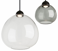 Tech 700TDBSTP Bristol Contemporary Black LED Lighting Pendant