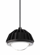 Tech 700TDERSBGPB-LED Eros Modern Black LED Mini Pendant Lamp