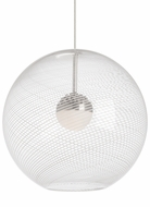 Tech 700TDPALPOCS Palestra Contemporary Satin Nickel Hanging Pendant Lighting