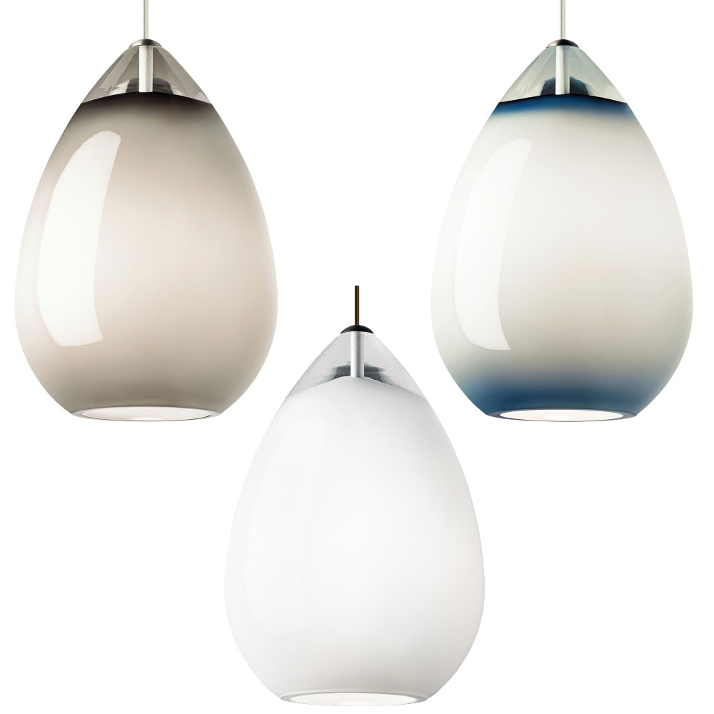 Tech alina grande contemporary led line voltage mini for Contemporary lighting pendants