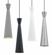 Tech Windsor Modern Black LED Line Voltage Mini Hanging Pendant Lighting