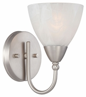 Thomas Lighting 190015117 Tia Matte Nickel Finish 5.25  Wide Wall Sconce