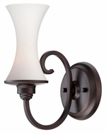 Thomas TN0001704 Natalie 10 Inch Tall Espresso Transitional Wall Lighting