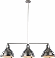Trans Globe PND-1007-PN Vintage Nautical Polished Nickel Kitchen Island Light