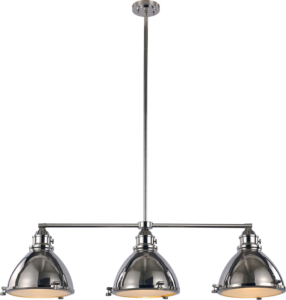 Nautical Kitchen Lighting Trans Globe Pnd 1007 Pn Vintage Nautical Polished Nickel Kitchen