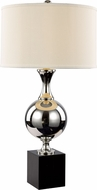 Trans Globe RTL-8803 Brushed Nickel Table Top Lamp