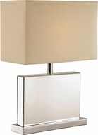 Trans Globe RTL-8864 Contemporary Polished Chrome Table Lamp