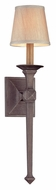 Troy B2931 Theo Aged Pewter Finish 24  Tall Lighting Wall Sconce