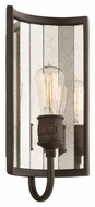 Troy B3141 Brooklyn Brooklyn Bronze Finish 7  Wide Wall Sconce Light