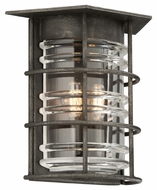 Troy B3792 Brunswick Aged Pewter Finish 12.25 Tall Outdoor Sconce Lighting