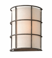 Troy B3911 Haven Liberty Rust Finish 10  Tall Wall Mounted Lamp