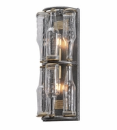 Troy B3942 121 Main Old Silver Finish 20.25  Tall Wall Sconce Light