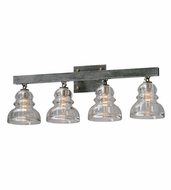 Troy B3964 Menlo Park Retro 10  Tall 4-Light Bath Lighting Fixture