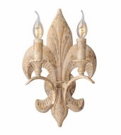 Troy B4032 Chaumont Traditional 10.25  Wide Light Sconce