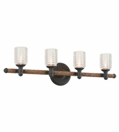 Troy B4154 Embarcadero 32  Wide 4-Light Bath Sconce