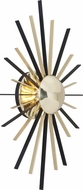 Troy B4251 Atomic Contemporary Polished Brass / Matte Black LED Wall Sconce