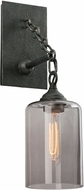 Troy B4421 Gotham Hand Worked Wrought Iron Wall Lamp