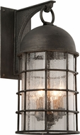 Troy B4433 Charlemagne Hand Worked Iron Exterior Light Sconce