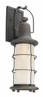 Troy B4441 Maritime Hand Worked Iron Outdoor Lighting Sconce