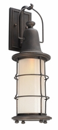 Troy B4442 Maritime Hand Worked Iron Exterior Lamp Sconce