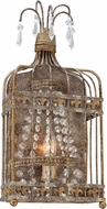 Troy B4541 Amelie Hand Worked Wrought Iron Lighting Sconce