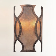 Troy BF2592 Mandarin Hand-Worked Wrought Iron Wall Lamp