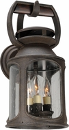 Troy BL4512 Old Trail Traditional Solid Aluminum LED Outdoor Wall Light Sconce