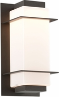 Troy BL4601BZ Paradox Contemporary Aluminum LED Outdoor Wall Sconce