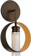 Troy BL4891 Insight Contemporary Modern Bronze LED Wall Light Sconce