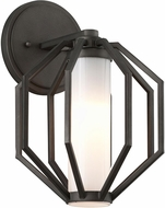 Troy BL4981 Boundary Modern Textured Graphite LED Exterior Small Lighting Sconce