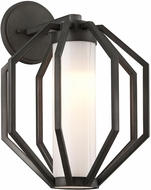 Troy BL4983 Boundary Modern Textured Graphite LED Exterior Large Wall Sconce Lighting