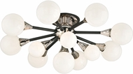 Troy C4280 Nebula Hand Worked Wrought Iron Halogen Wall Sconce