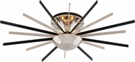 Troy C4802 Atomic Modern Solid Brass and Aluminum LED Wall Sconce Lighting