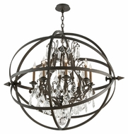Troy F2998 Byron Vintage Bronze Finish 41.5  Wide Chandelier Lamp