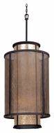 Troy F3104 Copper Mountain Old Silver Finish 52  Tall Drum Lighting Pendant