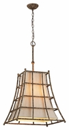 Troy F3785 Left Bank Coastal Rust Finish 25.75  Tall Lighting Pendant