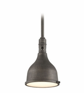 Troy F3866 Telegraph Hill Retro Aged Pewter Finish 11.5  Wide Outdoor Hanging Pendant Lighting