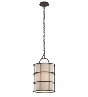 Troy F3913 Haven Liberty Rust Finish 11  Wide Mini Ceiling Light Pendant