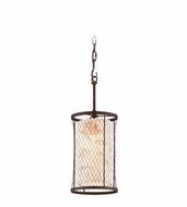 Troy F4023 Catch N Release Nautical 7.5  Wide Mini Hanging Lamp