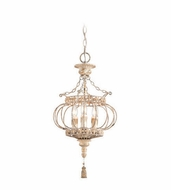 Troy F4035 Chaumont Traditional 26.25  Tall Hanging Pendant Light