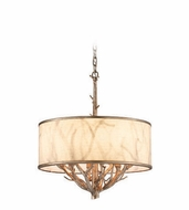 Troy F4104 Whitman 18.125  Wide Drum Hanging Pendant Lighting