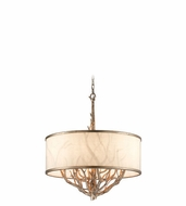 Troy F4106 Whitman 27.5  Tall Drum Hanging Pendant Light