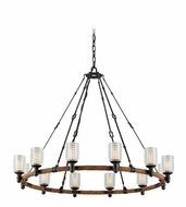 Troy F4157 Embarcadero 42.375  Wide Chandelier Light