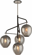 Troy F4296 Odyssey Hand Worked Wrought Iron Flush Lighting