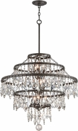 Troy F4319 Meritage Hand Worked Wrought Iron Hanging Pendant Light